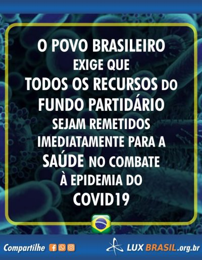 fundo partidario corona virus